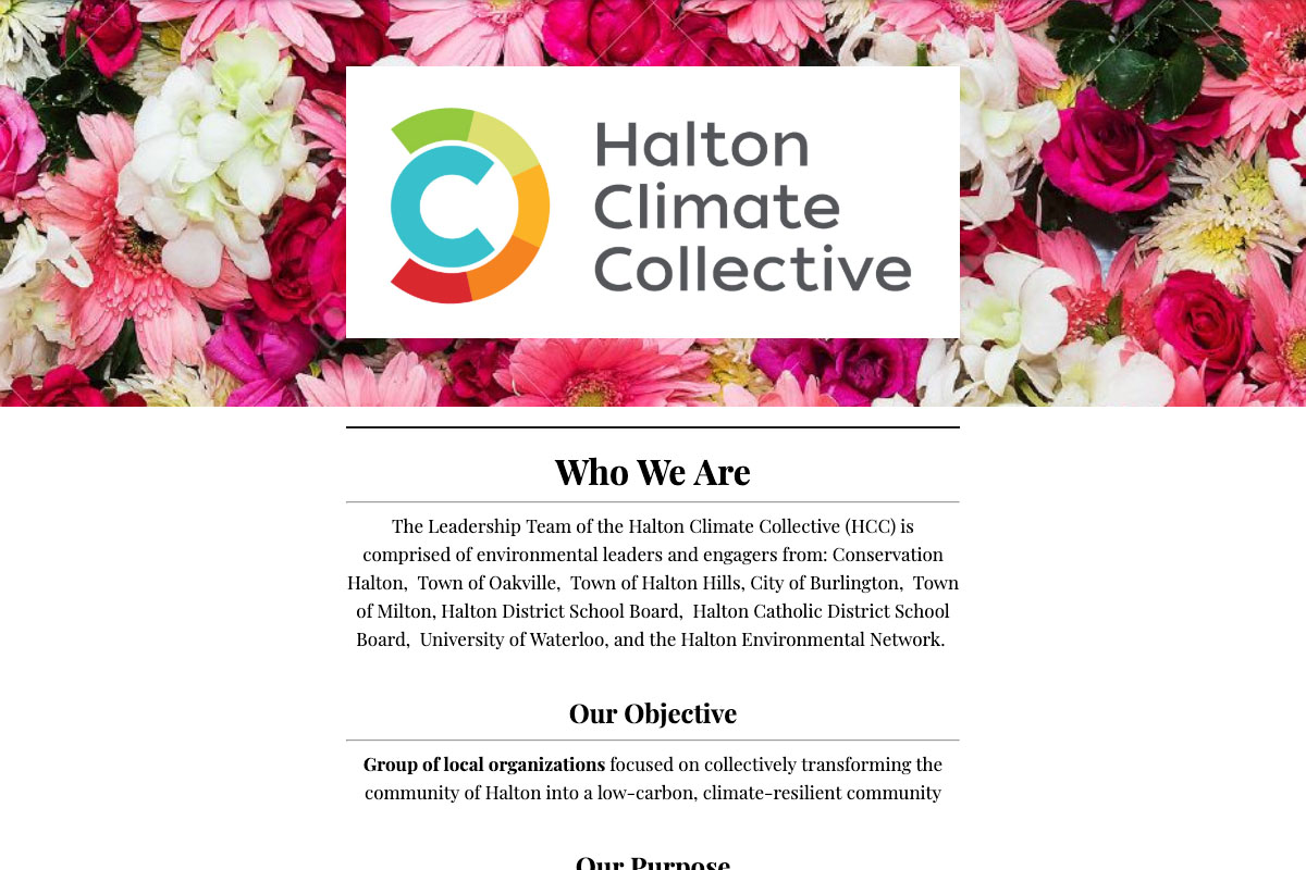 Halton Climate Collective June 2019 Newsletter