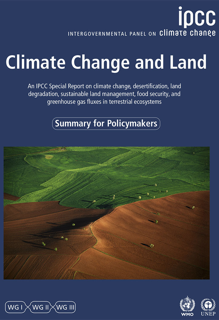 IPCC Special Report: Climate Change and Land