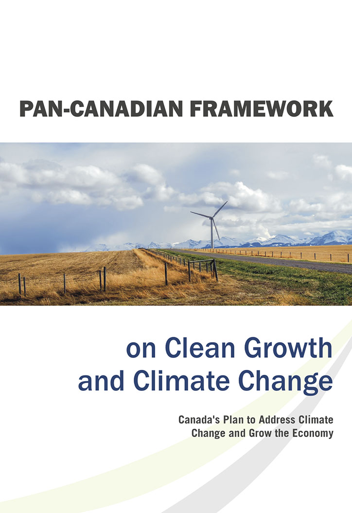 Pan-Canadian Framework on Clean Growth and Climate Change